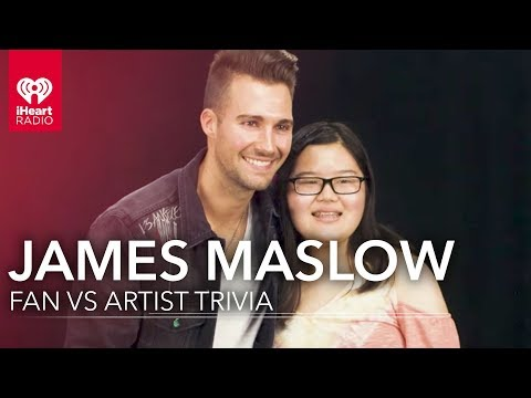 James Maslow Duels Fan in James Trivia | Fan Vs. Artist
