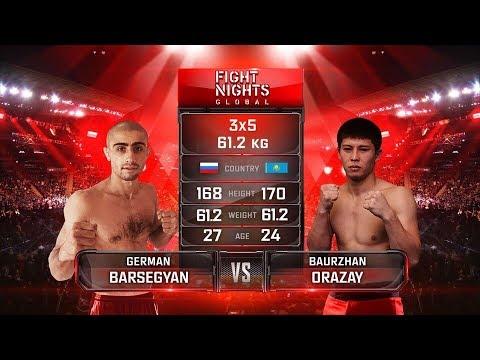 Герман Барсегян vs. Бауыржан Орзай / German Barsegyan vs. Baurzhan Orazay