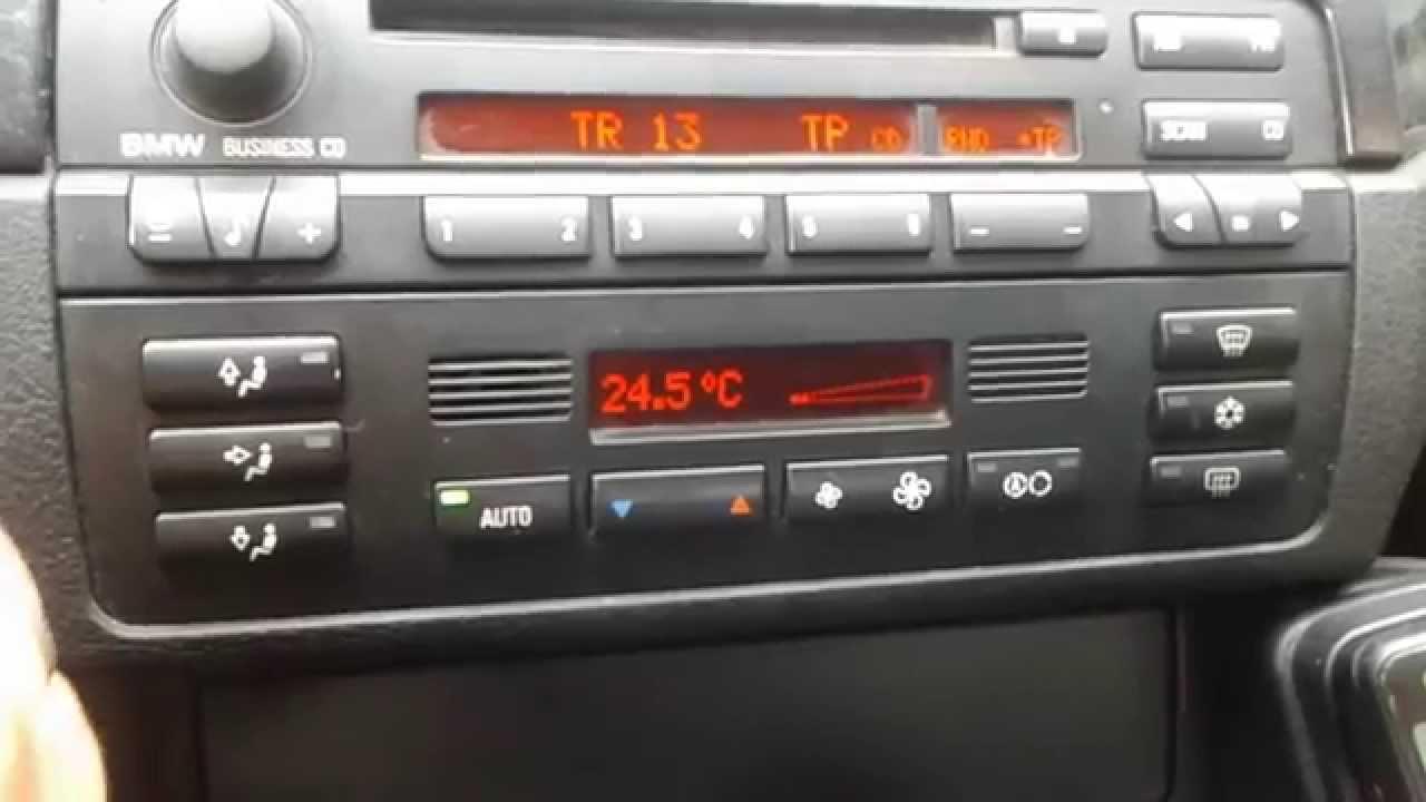 Klimatronic z AUC BMW e46 (AUTOMATIC AIR FLOW CONTROL)