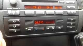 klimatronic z auc bmw e46 automatic air flow control