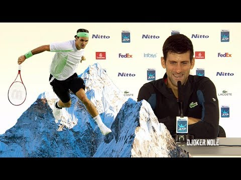 "Novak Djokovic ""Did Federer go to the mountains?! HAHAHA"" - ATP Finals 2018 (HD)"