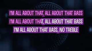 All About That Bass (Karaoke Version) - Meghan Trainor | TracksPlanet