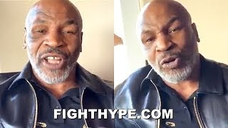 "MIKE TYSON KEEPS IT 100 ON WILDER'S LOSS & FURY-WILDER 3 WITH FAT JOE: ""HE DIDN'T FIGHT THE SAME"""