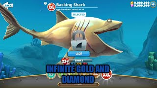 Hungry Shark World V2.2.0 ( Mod Infinite Gold And Diamond)