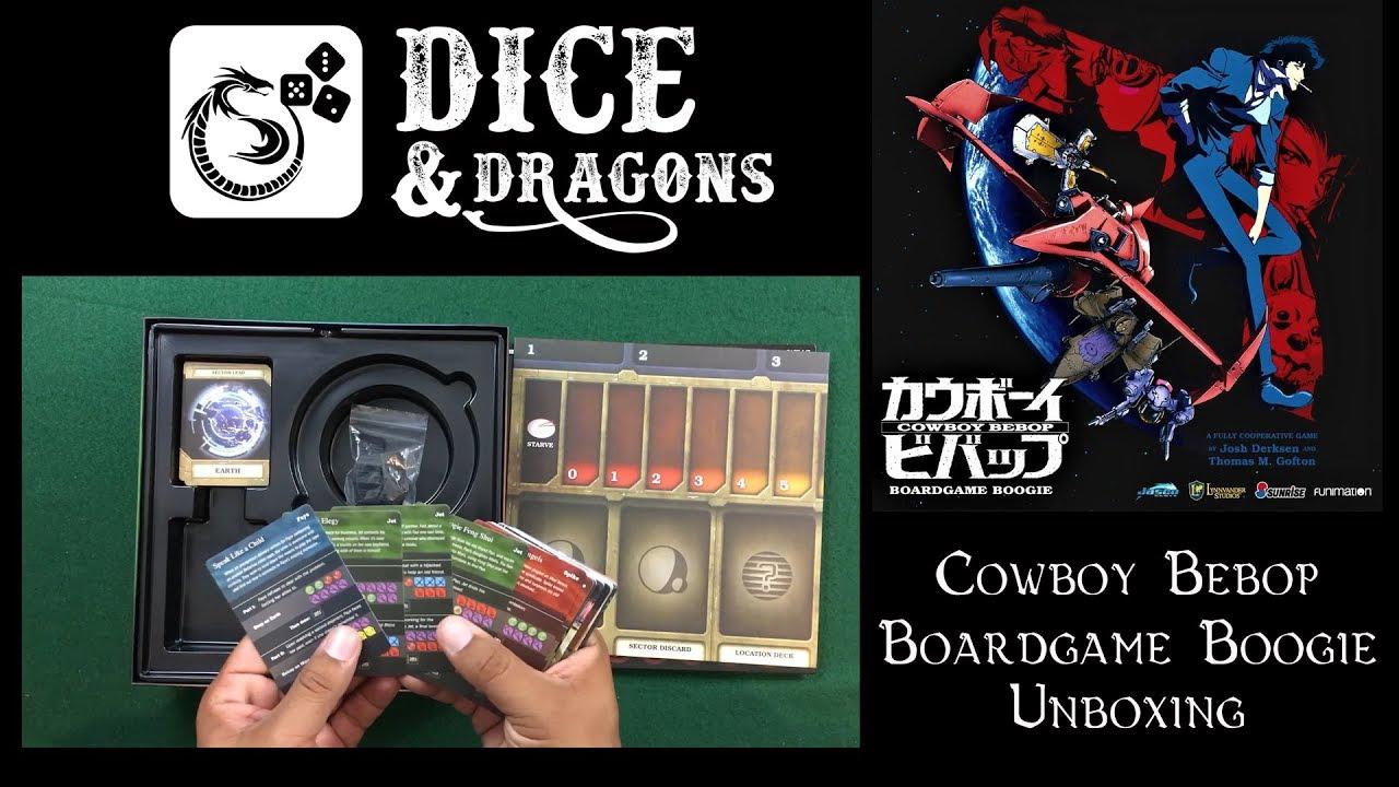 Boardgame Boogie Cowboy Bebop