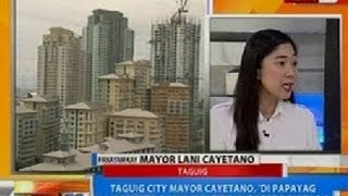 NTG: Taguig City Mayor Cayetano,