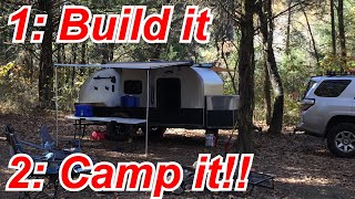 DIY Offroad Teardrop Camper Tour - camping included!