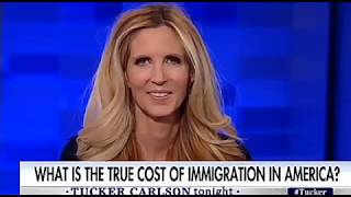 OMG: Immigration Supporters gets OWNED by Ann Coulter