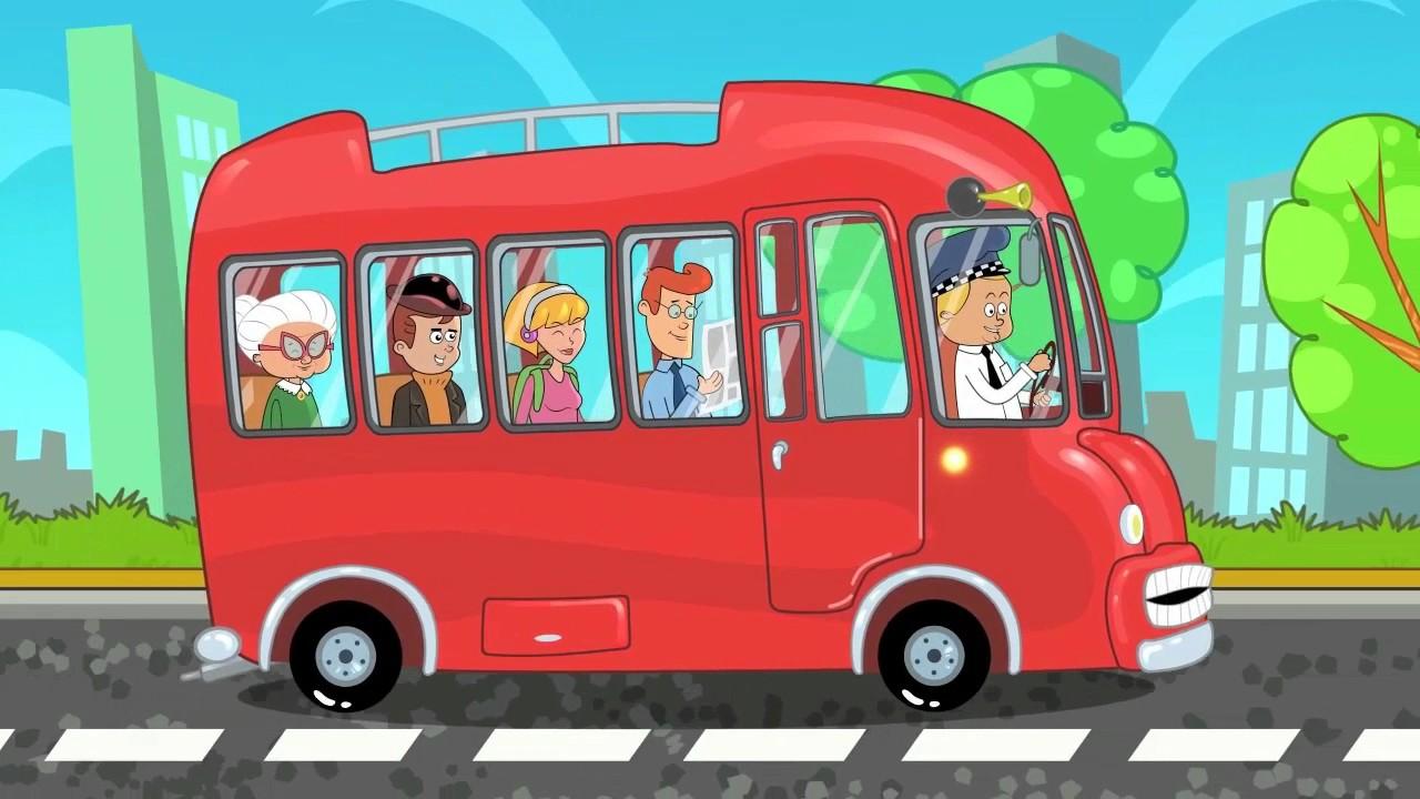 Le ruote del autobus canzoni per bambini primipassitv for Immagini giraffa per bambini