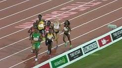 800m Final Caster Semenya 1:56.68  GR    Gold Coast 2018