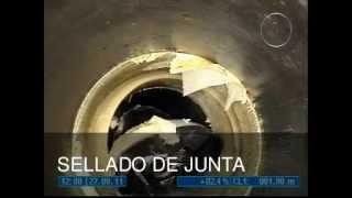 REPARACIÓN DE JUNTAS DE TUBERIAS (packer, manguito de fibra,...)
