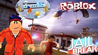ESCAPE, ROB, & GO TO JAIL AGAIN!!? Aridua | ROBLOX JAILBREAK INDONESIA