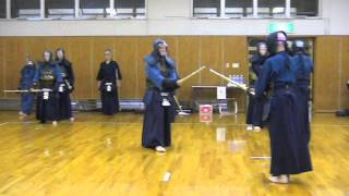 Tani, Katsuhiko 8. Dan vs Potrafki, Joerg 7. Dan in Fujioka 2011