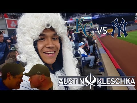 YANKEE GAME! | Kleschka Vlogs