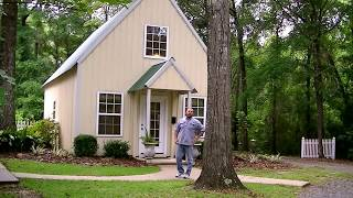 Tiny House Design. Small Home Grand Living. Room By Room Tour. Great Design. 800sf, Plans Available.