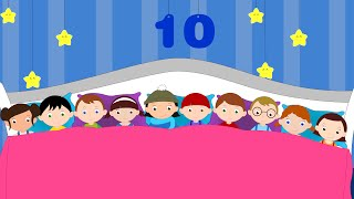 ZEHN IM BETT | Ten in the bed