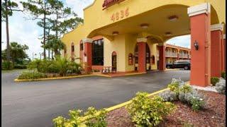HOWARD JOHNSON EXPRESS INN - SUITES LAKE FRONT PARK KISSIMMEE, FL.. Hotel Review... Near Disney
