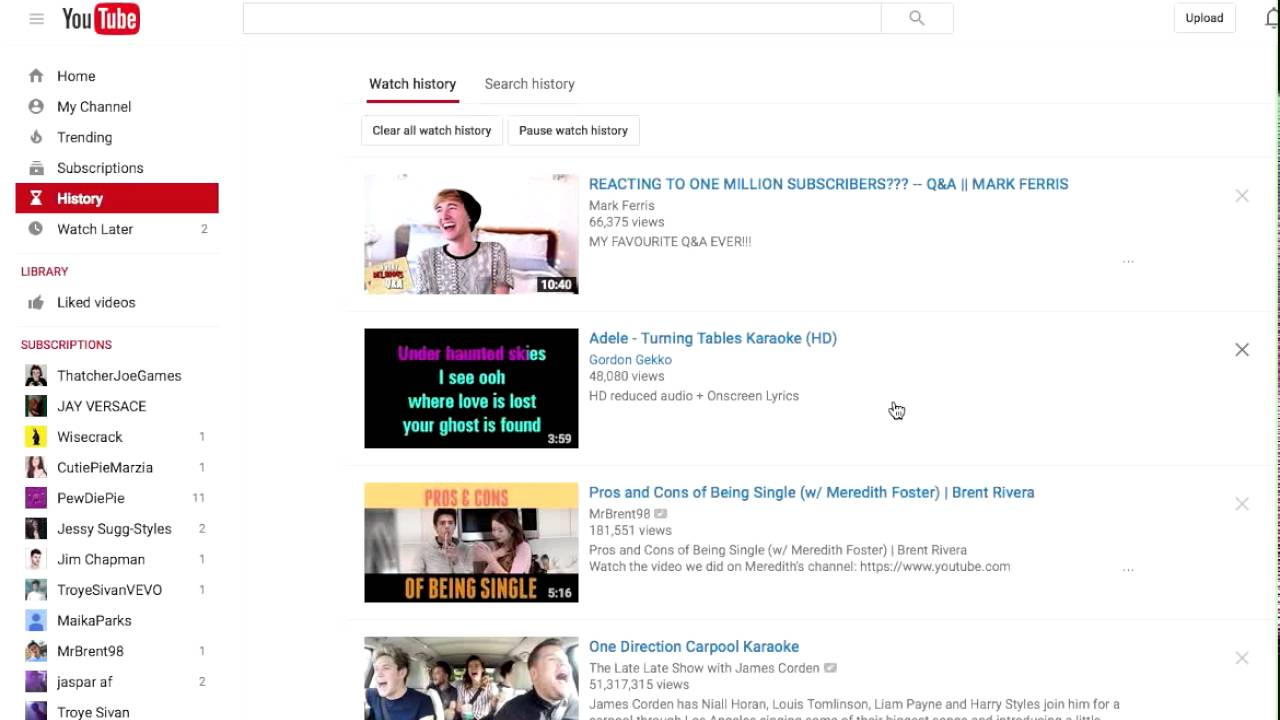 How To Check Your Child S Youtube Viewing History Youtube