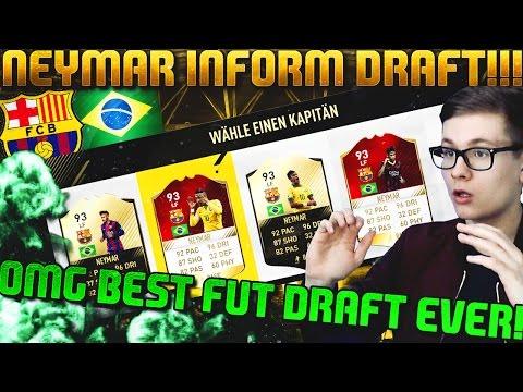 FIFA 17: OMG INFORM NEYMAR FUT DRAFT 🔥😱 (DEUTSCH) - ULTIMATE TEAM - BEST DRAFT EVER!