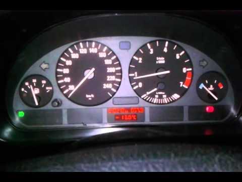 BMW e39 m52 дорест, симптомы умершего датчика коленвала