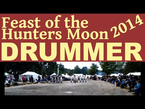 Feast of the Hunters Moon Drummer