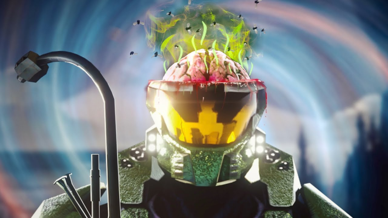 How Cursed Halo Affects the Human Brain