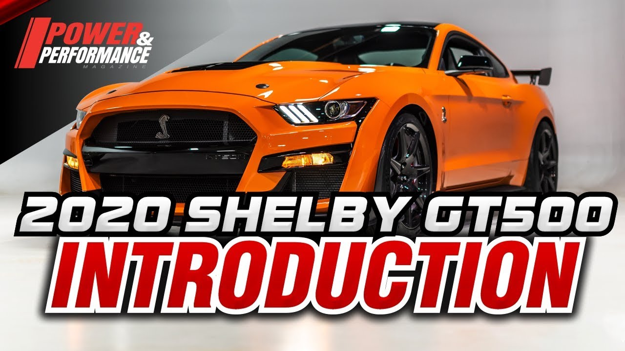 Exclusive Look: Twister Orange 2020 Shelby GT500 - YouTube