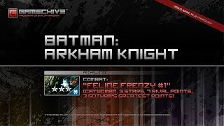 Batman: Arkham Knight (PS4) Gamechive (Combat Challenge 17: Feline Frenzy #1, Catwoman, 3 Stars)