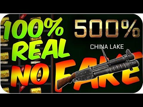 500% CHINA LAKE!!