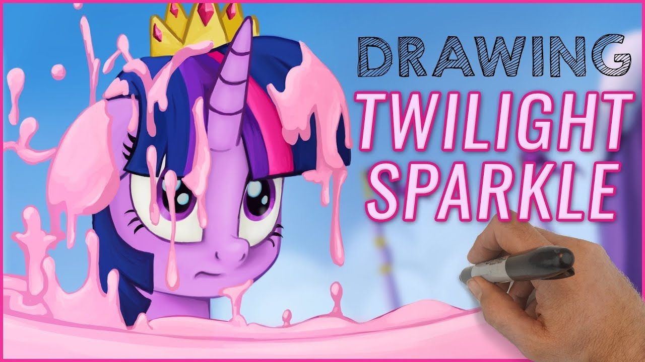 drawing my little pony twilight sparkle kids coloring book