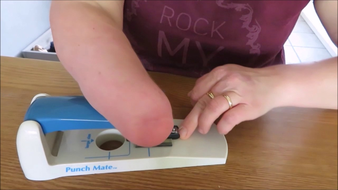 How do I cut my nails from my hand without prosthesis - YouTube