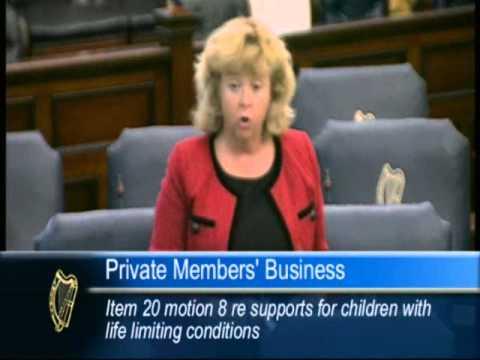 Senator Mary Moran Private Members Bill