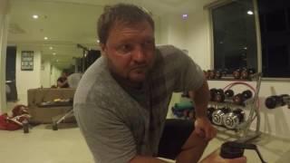 Алексей Тюкалов - тренировка в Бангкоке (армлифтин