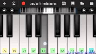 Download Hindi Video Songs - Soch Na Sake (Arijit Singh) - Mobile perfect piano tutorial with notes