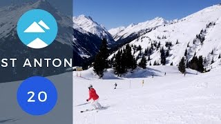 Blue 20 St Anton am Arlberg | Piste View