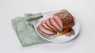 Classic Roast Beef with Horseradish Cream  Savory