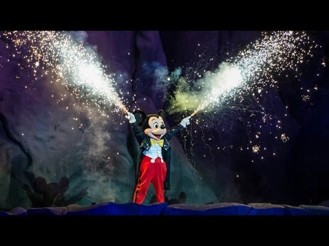 Fantasmic! Complete Show HD - Hollywood Studios, Walt Disney World