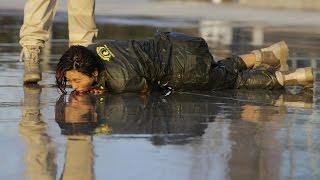 WOW!!!  vidio kerasnya pelatihan tentara wanita CHINA!!-NGERESSS