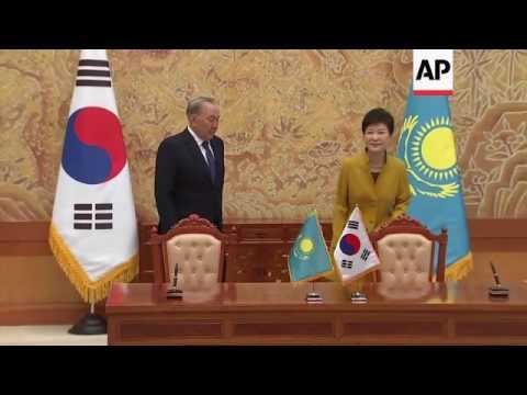 Park meets Kazakhstan President