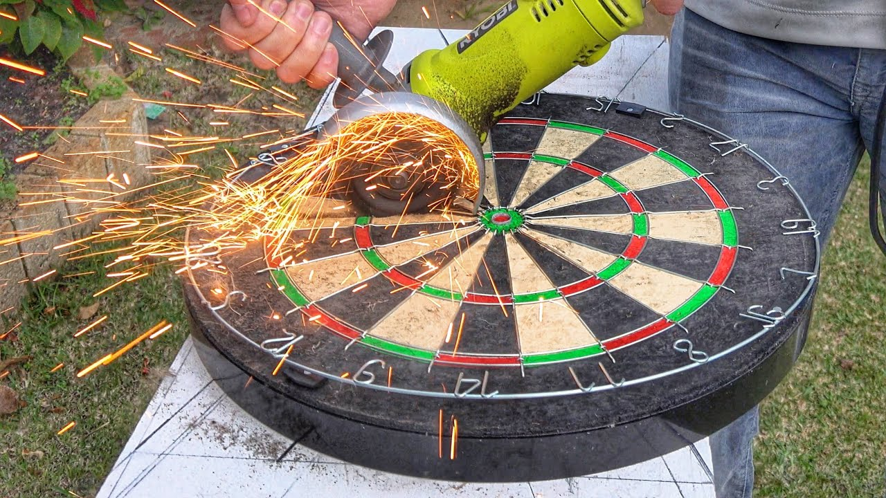 What39s Inside A Dartboard Youtube