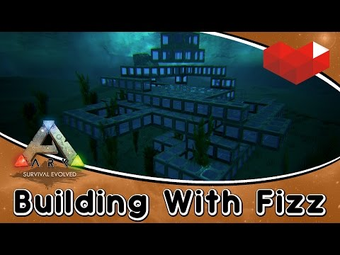 ARK: Live Step by Step Building w/ Fizz :: Underwater Arena Build!!