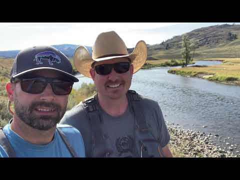 CHECK IN, FISH ON, DINE OUT - Fly Fishing Yellowstone - The AugVlog