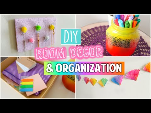 DIY Tumblr Room Decor & Organization | Spice up your room for Spring 2016!