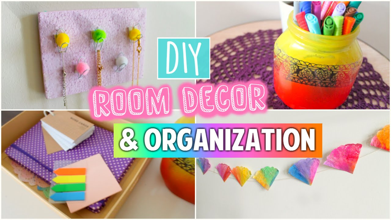 Diy tumblr room decor organization spice up your room for Room decor organization
