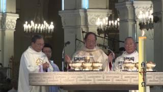 WGPSG - Thánh lễ Tạ ơn Đức Tổng Giám mục Phaolô Bùi Văn Đọc Tồng Giáo phận Sài Gòn