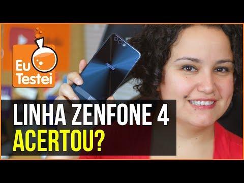 Linha Zenfone 4: a Asus ouviu os usuários? - Vídeo EuTestei