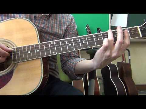 [기타팝]빅뱅(Big Bang) Blue ;Acoustic guitar chords 기타 코드~
