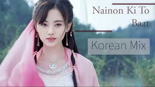 Nainon Ki Jo Baat | New Korean Mix Hindi Sad Song | New Sad Hindi Songs