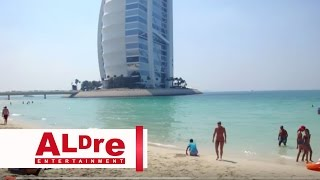 Burj al Arab - Beach, Outside, Inside, Yacht & Pool [HD]