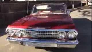 1963 CHEVY IMPALA CANDY APPLE RED FOR SALE TULSA OKLAHOMA 918-728-2525 Steve